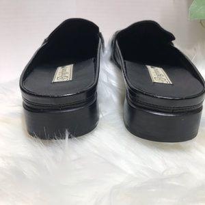 Brighton Shoes - 💗 Brighton Jazz 💗 Bench Made Black Leather Slide